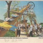 Maibaumtafeln Halsbach 2005